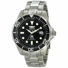 Invicta Pro Diver 3044 47mm Silver Stainless Steel Case Silver Stainless Steel Band Men's Wristwatch - (3044)