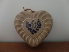 Pfaltzgraff Folk Art Heart Shaped Mold / Wall Hanging