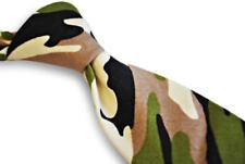 Cravates, nœuds papillon et foulards verts pour homme en 100% coton