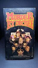 Murder by Decree: Robert Weverka. Ballantine Books 2nd Printing 1979. E-86