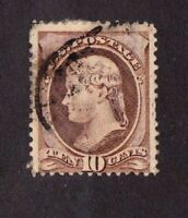 United States stamp #209, used, clean!