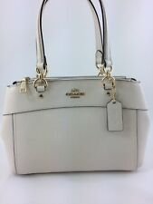 New Coach F31251 Mini Brooke Carryall Satchel Handbag Purse Bag Glitter  Chalk 586f954e7f216
