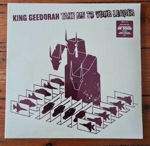 King Geedorah MF Doom - Take Me To Your Leader -  2xLP Red Vinyl Madvillain