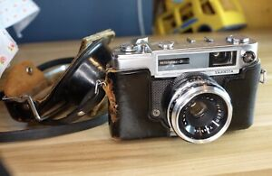 Yashica Minister D Camera In Fair Condition