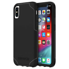 Griffin Survivor Strong Impact Protection Case for iPhone X / XS - Black / Grey
