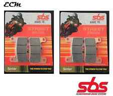 Suzuki GSX-R 600 K4 2004 Radial Caliper SBS Set Front Brake Pads Sinter 806HS