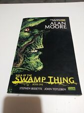 Saga of the Swamp Thing TPB By Alan Moore #1-REP VF 2012 Stock Image