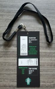 Maroon 5 Tour Concert Fenway Park Employee Ticket Seat Pass 9/12/21 Adam Levine