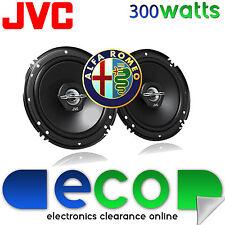 ALFA ROMEO 156 97-07 JVC 16 CM 6,5 POLLICI 300 WATT 2 VIE PORTA ANTERIORE Altoparlanti Auto
