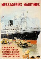 Menus et affiches nautiques de collection