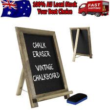 Rustic Chalkboard Blackboard Easel Frame Vintage Wedding Party Decoration