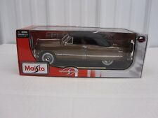 1:18 scale 1950 Ford Coupe Brown with Black Top Maisto diecast
