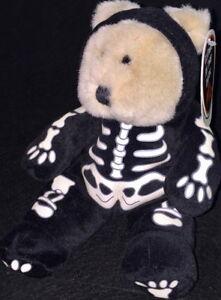 STARBUCKS 1999 HALLOWEEN Costume 7th BEARista BEAR Collection TEDDY BEAR Plush