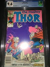 Thor #372 CGC 9.6 - 1st App TVA - Time Variance Authority - 1986