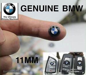 1 X GENUINE BMW Replacement 11MM METAL KEY FOB BADGE E30 E36 E46 E90 F10 G20 E70