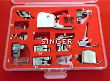 Kit 15 Piedini ORIGINALI Set Accessori per Macchina per Cucire SINGER NECCHI