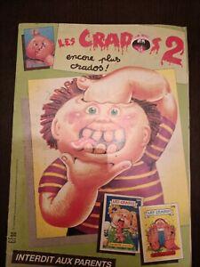 Album les CRADOS série 2 1989 rare