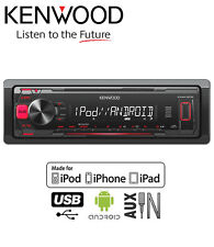 KENWOOD kmm-202 Auto Stereo, USB AUX IN mp3 riproduce iPod iPhone