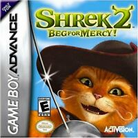 Shrek 2 Beg for Mercy! - Nintendo Game Boy Advance GBA