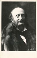 Jacques Offenbach Real Photo Postcard rppc – French German Composer and Cellist