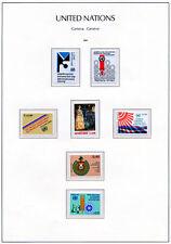 SSUN 102 UN Geneva 1981  MNH SUPERB year set