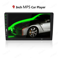 1 Din 9 Inch Car FM/USB MP5 Player Touch Screen Radio Bluetooth Handsfree