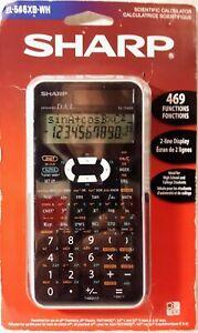 SHARP EL-546XB Scientific Calculator - 469 Functions & 2 Line Display - NEW