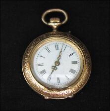 Antike Damen Taschenuhr 14 Karat Gold um 1900