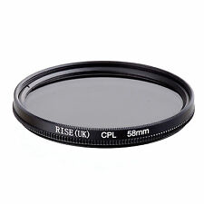 58mm Circular Polarizing CIR-PL CPL FILTER lenses for canon nikon sony lens new
