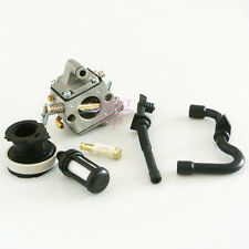 Carburetor Gas Fuel Oil Line Filter Kit Set For STIHL MS170 MS180 Chainsaws