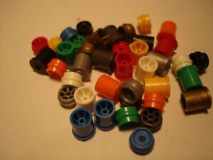 20 PAIR H.O. SCALE REPRO PLASTIC RIM SETS AURORA G+/TURBO/SRT/SG+/AFX SEE DETAIL