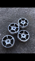 HD Aluminum 5-Spoke Wheels for XMODs XMOD Silver