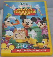 Mickey's Treasure Hunt DVD. 3 Mickey Mouse Clubhouse episodes.