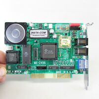 MX-2496  Fax Modem Internal PC Card 1991 8 bit ISA bus