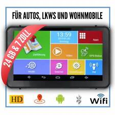 Android navegador 7 pulgadas WiFI Navi navegación alertador de radares auto Tablet GPS