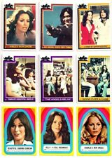 1977 CHARLIES'S ANGELS SERIES 3 TRADING CARD SET + STICKERS