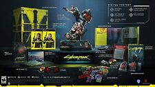 Cyberpunk 2077 Collector's Edition PC + Protagonist V STATUE Figure USA PRESALE