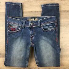 80f4a7361db1 Von Dutch Women s Jeans Slim Fit Stretch Size 30 L29 ...