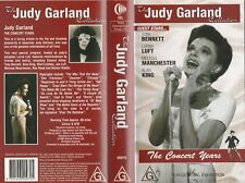 THE JUDY GARLAND COLLECTION THE CONCERT YEARS AS NEW RARE  PAL VHS VIDEO