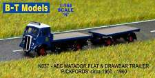 B-T Models N037 AEC Matador Flat & Trailer Pickfords N Gauge = 1/148th Scale T48