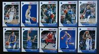 2019-20 Panini NBA Hoops Dallas Mavericks Base Team Set of 10 Basketball Cards