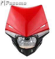 Road Legal Streetfighter Enduro LED Headlight For Honda  XR CRF MTX  XLR 250 450