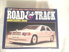 REVELL MERCEDES 190E ROAD N TRACK  7455  OPEN BOX W/SEALED BAG INSIDE MINT CLASS