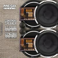 CT Sounds Meso 6.5 Inch 2 Way Full Range Car Audio Component Speaker Set
