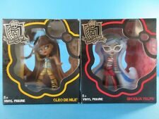 Monster High CLEO DE NILE + GHOULIA YELPS (New & Sealed) 4 Inch Vinyl Figures