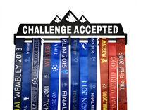 Metal Medal Hangers Awards Holder Medal Rack Medal Display Challenge Accepted