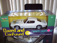 ERTL  1/18 SCALE   DAZED AND CONFUSED WHITE LIGHTNING PONTIAC TRANS AM SD455