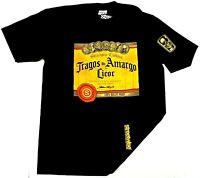 STREETWISE TRAGOS AMARGOS T-shirt Urban Streetwear Tee Men L-4XL Black NWT