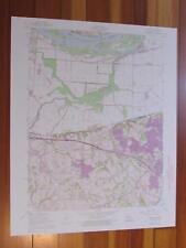 New listing Kampville Missouri 1975 Original Vintage Usgs Topo Map