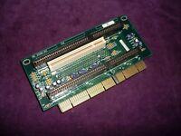 Vintage Intel PBA 615284-003 2X PCI 3X ISA SLOT EISA RISER BOARD USED